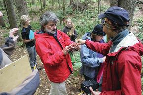 Mountain climber Ed Webster visits Thaddeus Stevens School