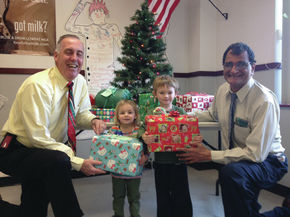 Christmas Shoe Box project takes place at Littleton High School