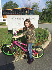 Concord student has perfect attendance
