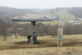 St. Johnsbury Academy Kicks Off Solar Electricity Curriculum with Installation on Danville Property