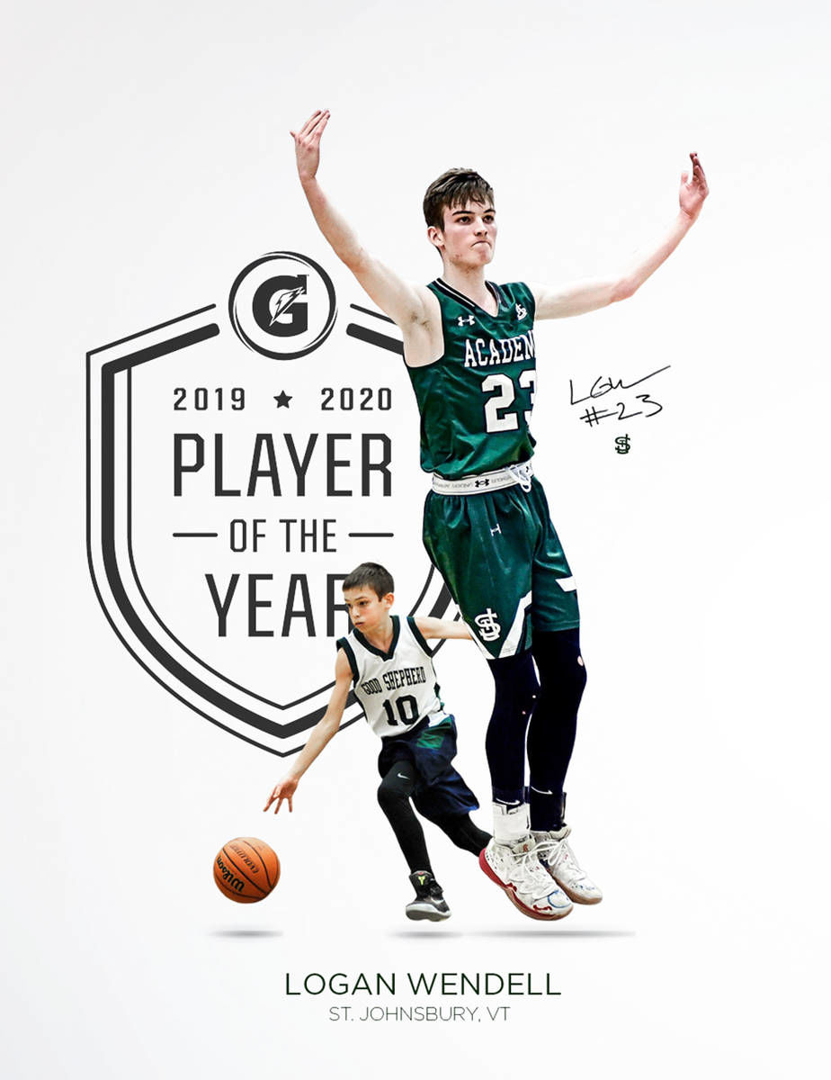 H.S. hoops: St. J's Wendell named Vermont Gatorade Player of the Year