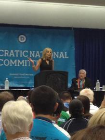 LI Senior Attends Democratic National Convention