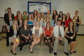 Littleton High School NHS Inducts New Members