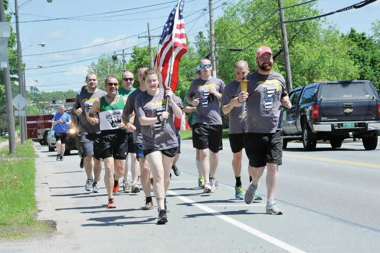 Local Law Enforcement Supports Special Olympians With Annual Torch Run