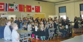 Celebrating Veterans Day at United Christian Academy