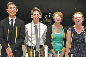 United Christian Academy Holds NHS Induction