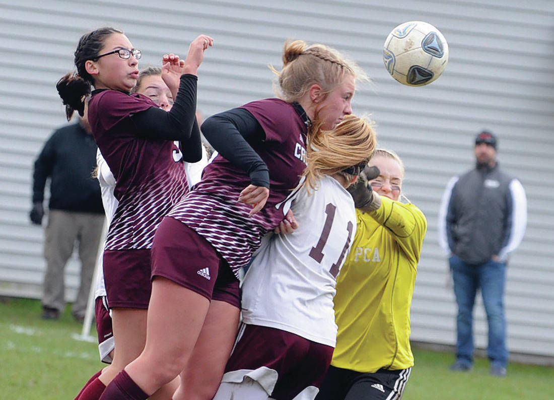 N.H. D-IV girls soccer: Woodsville meets Newmarket, Littleton battles Sunapee in final four