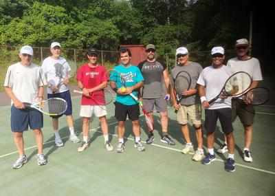 Local Players In Top Form At Monday Tennis