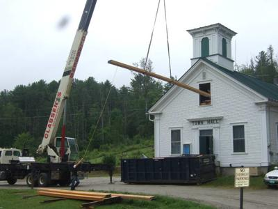 First Phase Of Wheelock Town Hall Restoration Complete