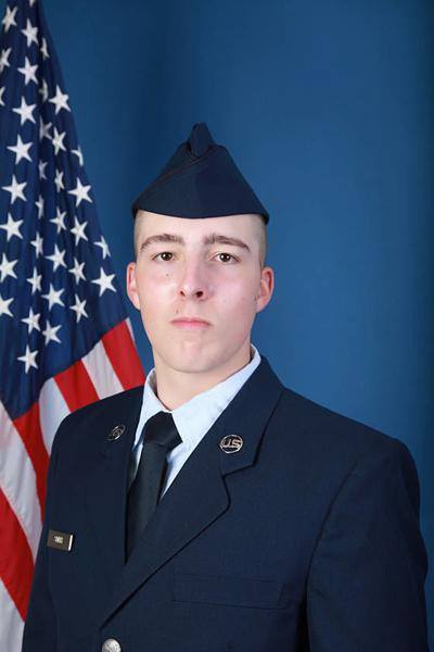U.S. Air Force National Guard Airman Bradley W. Smith Graduates From Basic Military Training
