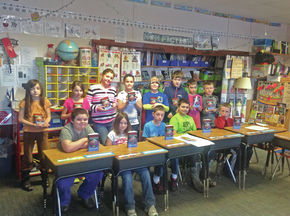 St. Johnsbury Rotary Club donates atlases to Concord School students