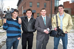 Lyndon State's Television Journalists Honored