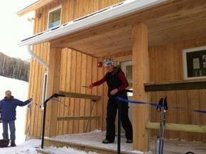 Burke Mountain Academy Celebrates A New Warming Building