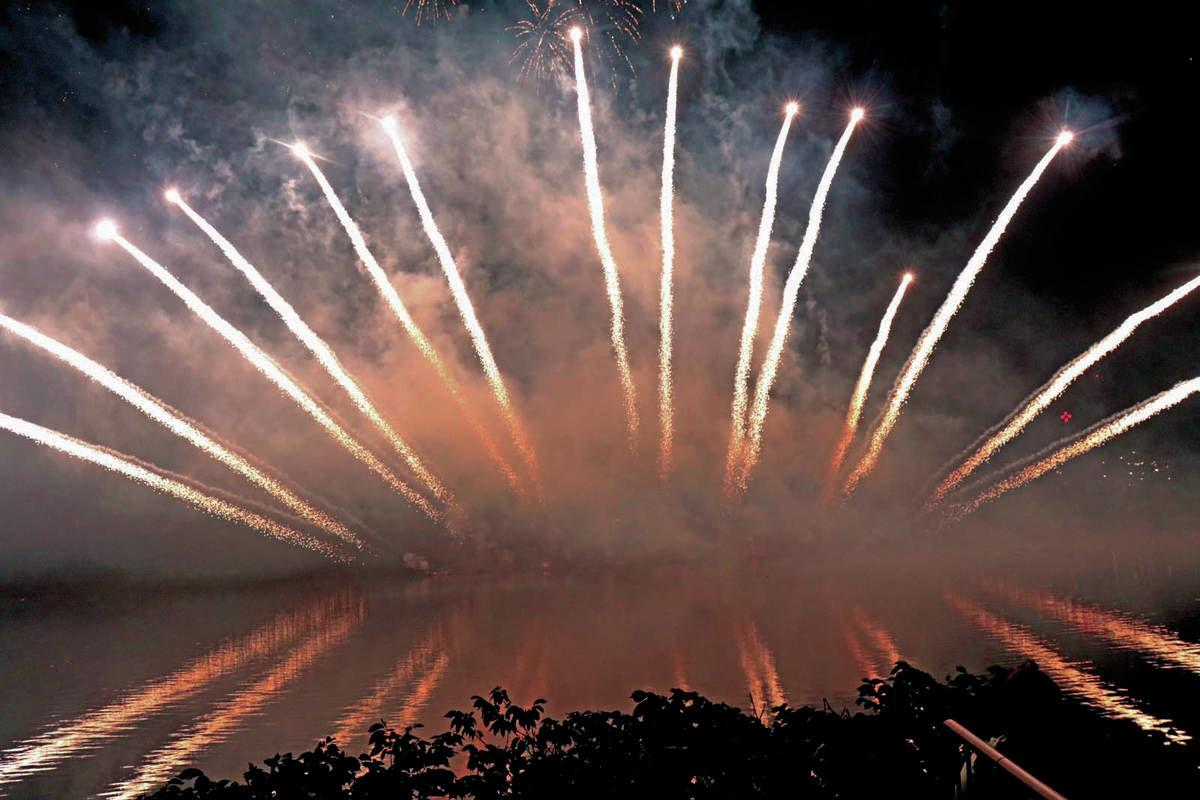 Northstar Fireworks Takes Second Place At Sherbrook Competition