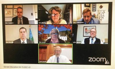 Tom Lovett Addresses Senate Committee In New Role On State Ed Board