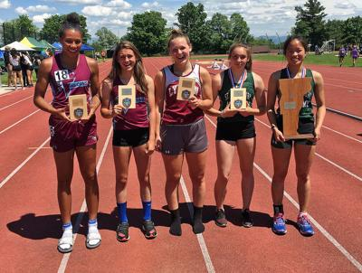 Vt. state decathlon: St. J's Lia Rotti reigns again