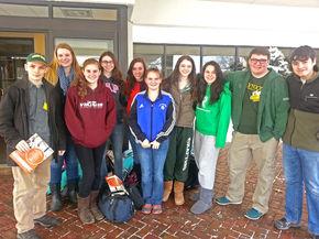 Upward Bound Students Celebrate National TRIO Day