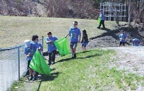 Cornerstone students cleans up for Green Up