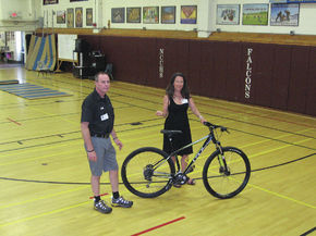 Bike Safety And Health Presentation At NCUHS