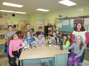 Burke Town School Students Designs Earthquake Resistant Houses