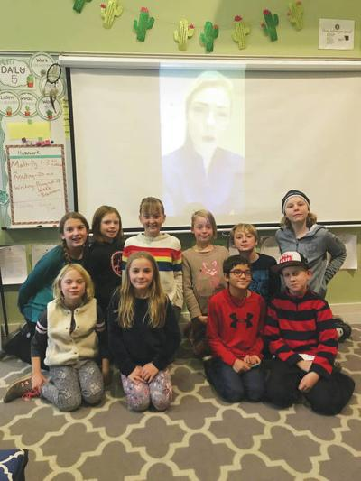 Riverside Students Connect With Olympic Athletes During Biography Fair