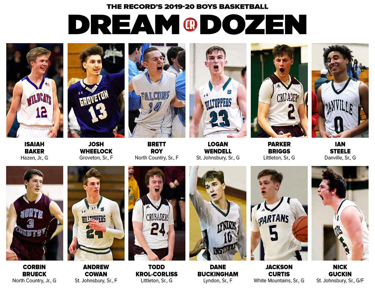 The Record's Dream Dozen: 2019-20 All-Area Boys Basketball Team