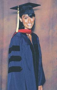 Atlantis Russ graduates from the University of Arizona