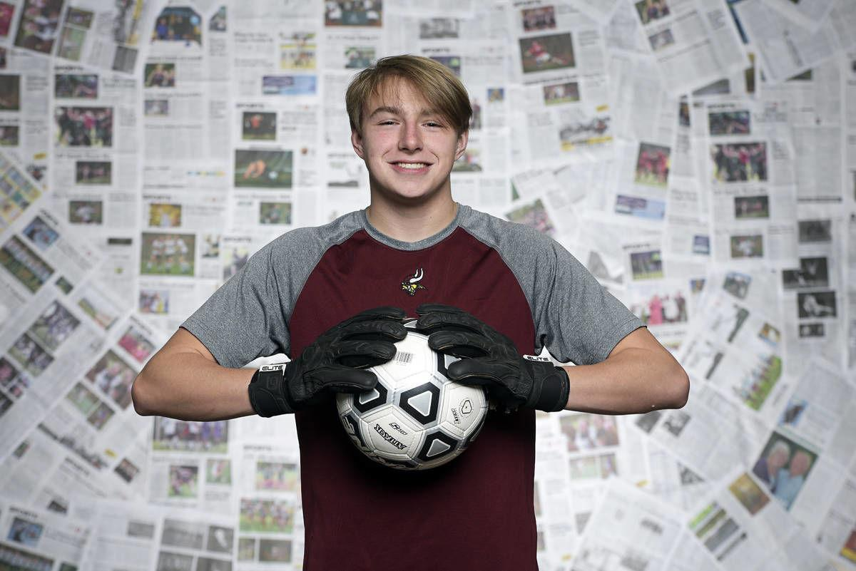 Lyndon Institute's Sage Gosselin: The Record's 2019 Boys Soccer Player of the Year