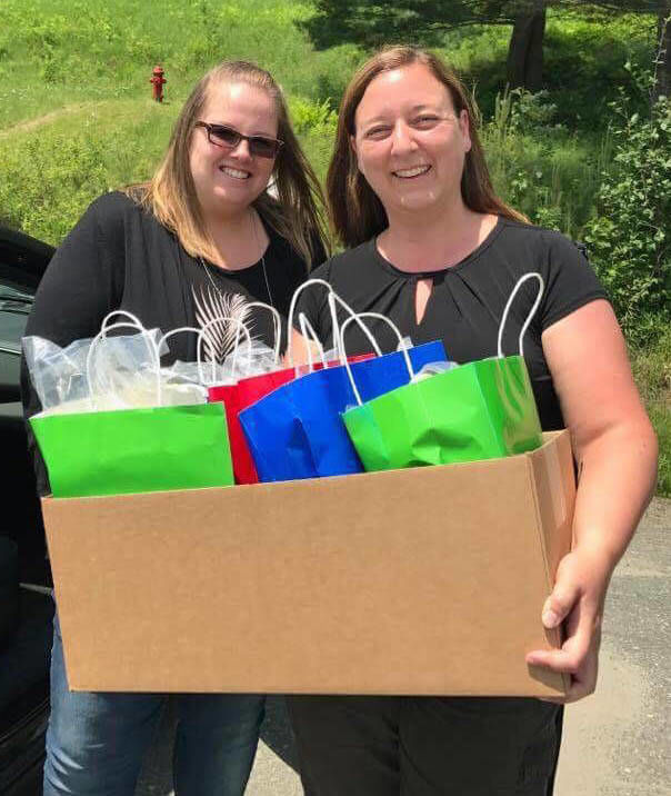 Green Mountain United Way and Tatum's Totes Celebrate Second Anniversary serving Central Vermont and the Northeast Kingdom
