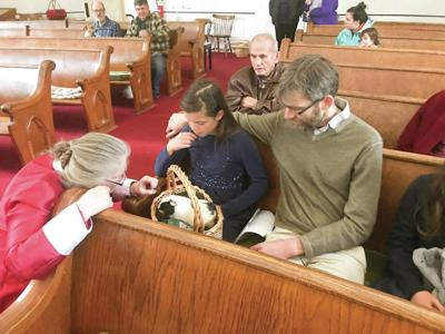 Peacham Church Welcomes People With Pets For A Blessing Of The Animals
