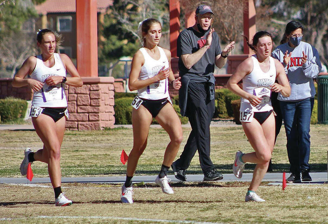 Ex-St. J Standout Becca Green Runnin' With Rebels Out West