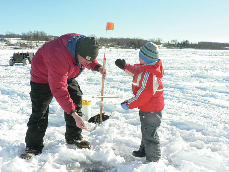 Cold weather brings early ice fishing opportunities news for Fishing in cold weather