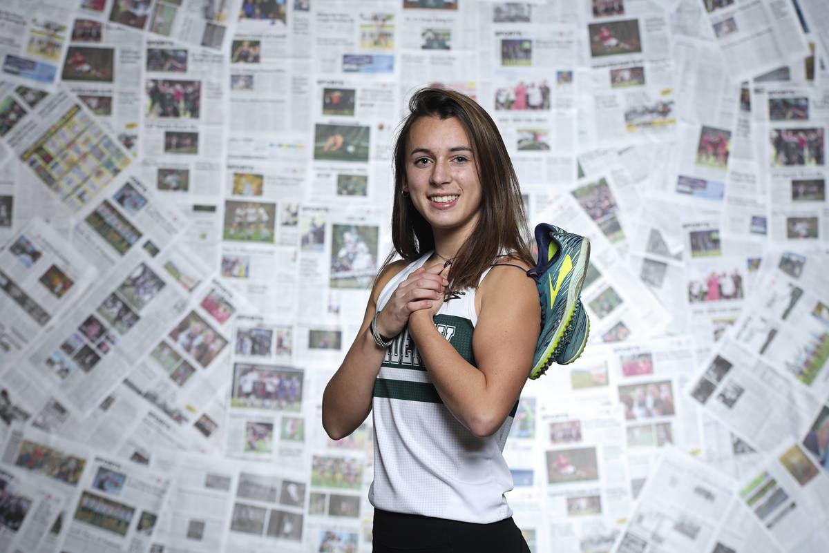 St. Johnsbury Academy's Merrick Hemond: The Record's 2019 Girls Cross Country Runner of the Year