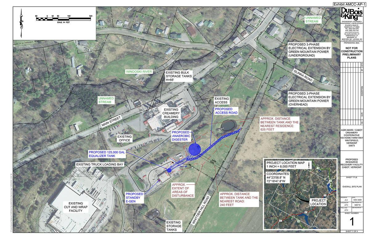 Cabot Creamery Seeks CPG For Biogas Plant