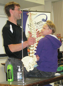 Local Middle School Students Explore Health Careers at Lyndon Institute's Tech Ed Day