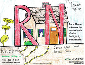 Waterford Elementary School Sweeps Radon Poster Contest Awards