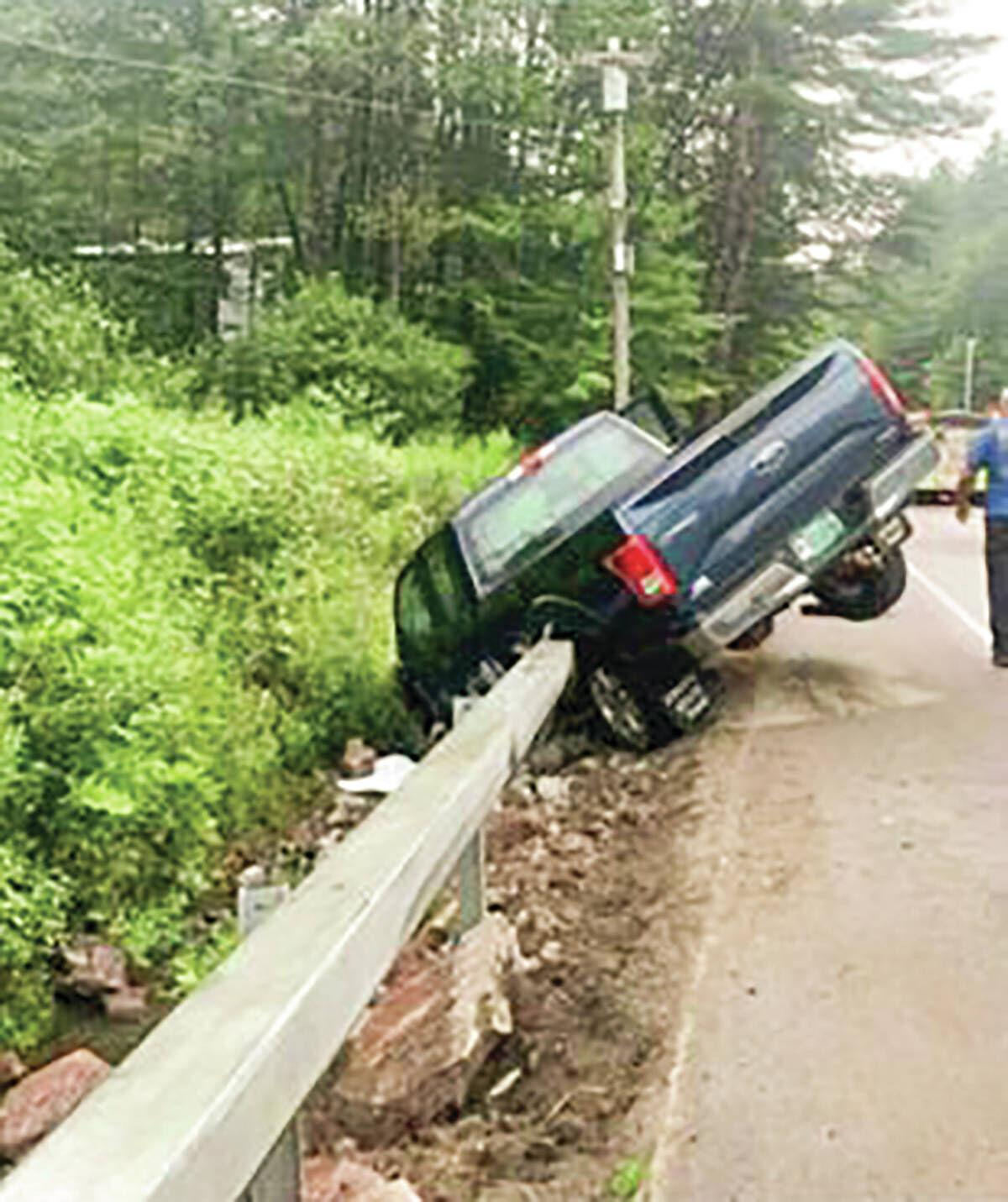 Woman Steals Truck In St.J, Crashes It In Stowe, Walks Away From The Scene