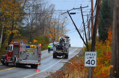 Bethlehem:High Winds Blow Poles, Transformer Onto Route 302