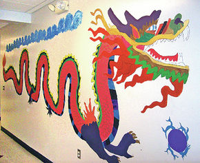 Miller's Run And Newark Street Schools Celebrate The Year Of The Dragon