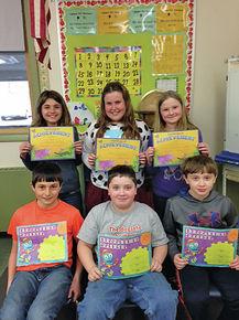 Students Learn Scientific Methods At School Fair