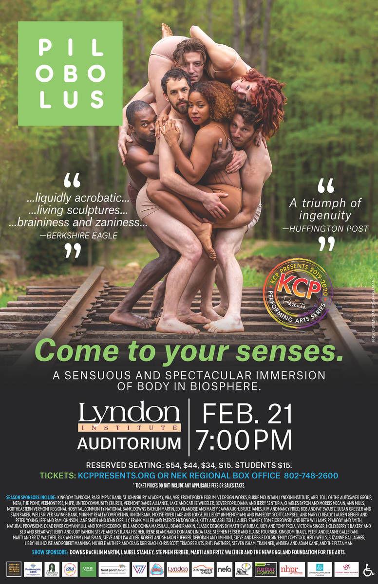 Dance Sensation Pilobolus Returns to NEK On Feb 21