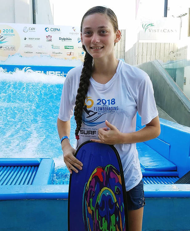 Caffrey rides to second at World Flowboarding Championships