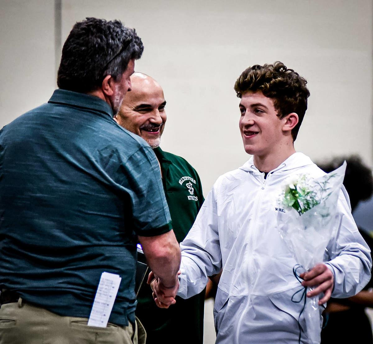 St. Johnsbury Academy's Hunter Verge: The Record's 2019-20 Wrestler of the Year