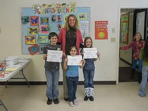 Stark Village School announces honor students