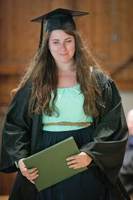 Victoria Fura graduates from Marlboro College