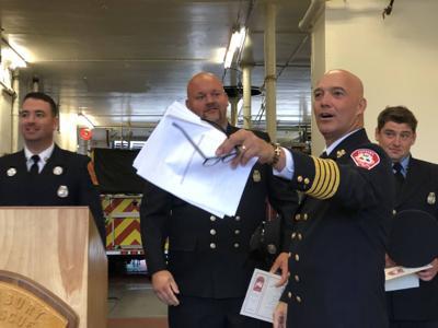 Interim Fire Chief Hits Ground Running