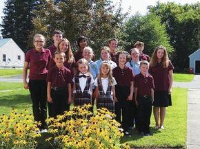 Caledonia Christian students begin new school year