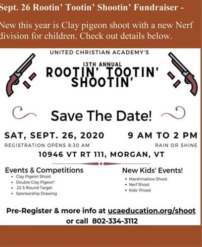 UCA's Rootin' Tootin' Shootin' Fundraiser To Take Place Sept. 26