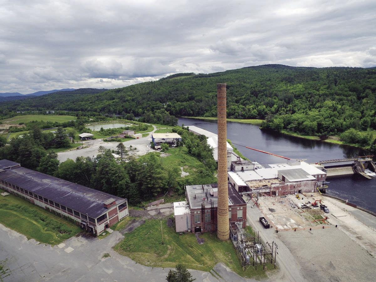 Gilman Paper Mill Site Targeted For Power Build-Out