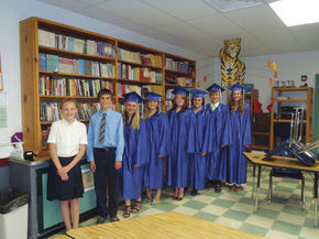 Sutton School announces eighth grade graduates